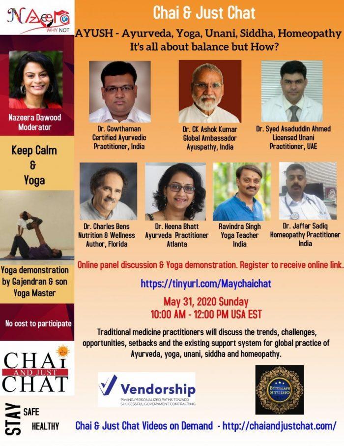AYUSH – Ayurveda, Yoga, Unani, Siddha, Homeopathy It's all about balance but How?